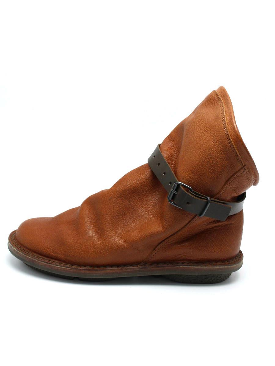 trippen トリッペン 靴 ショートブーツ レザー【38】【Bランク】【中古】tn300610t