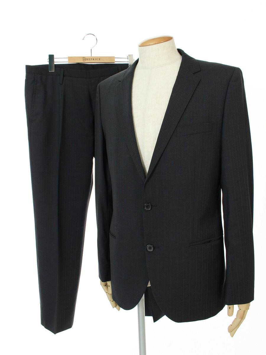 HUGOBOSS ヒューゴボス スーツ パンツ ジャケット【メンズ】【50】【Aランク】【中古】tn300617t