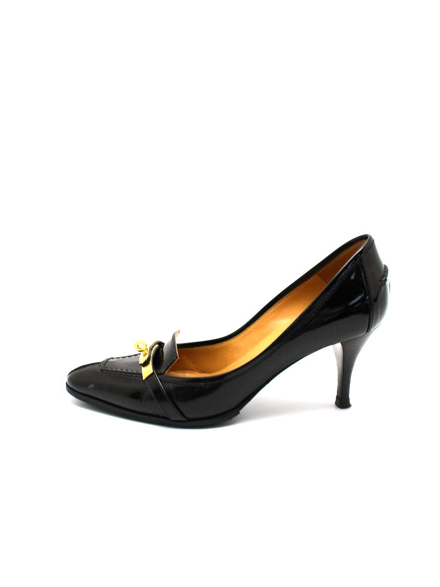HERMES エルメス 靴 パンプス レザー【35】【Bランク】【中古】tn300621t