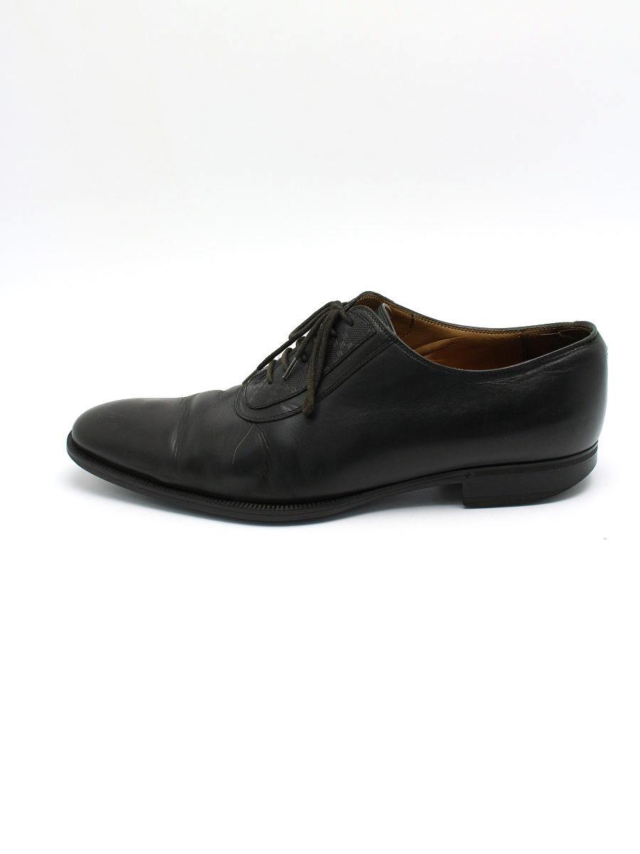 GUCCI グッチ 靴 ビジネス シューズ レザー 【メンズ】【7.5】【Cランク】【中古】tn300617t