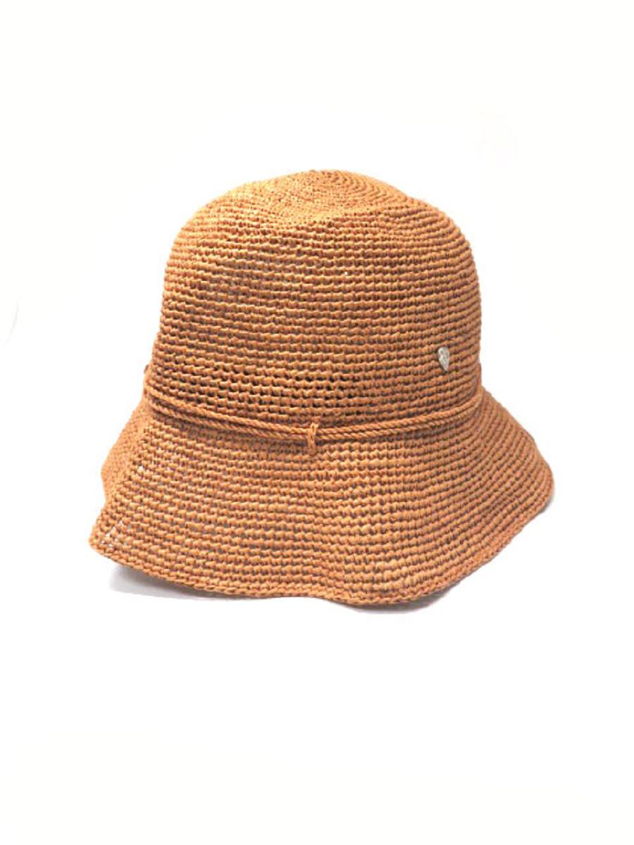 HELEN KAMINKI ヘレンカミンスキー 帽子 ラフィア ハット【Aランク】【中古】as300628
