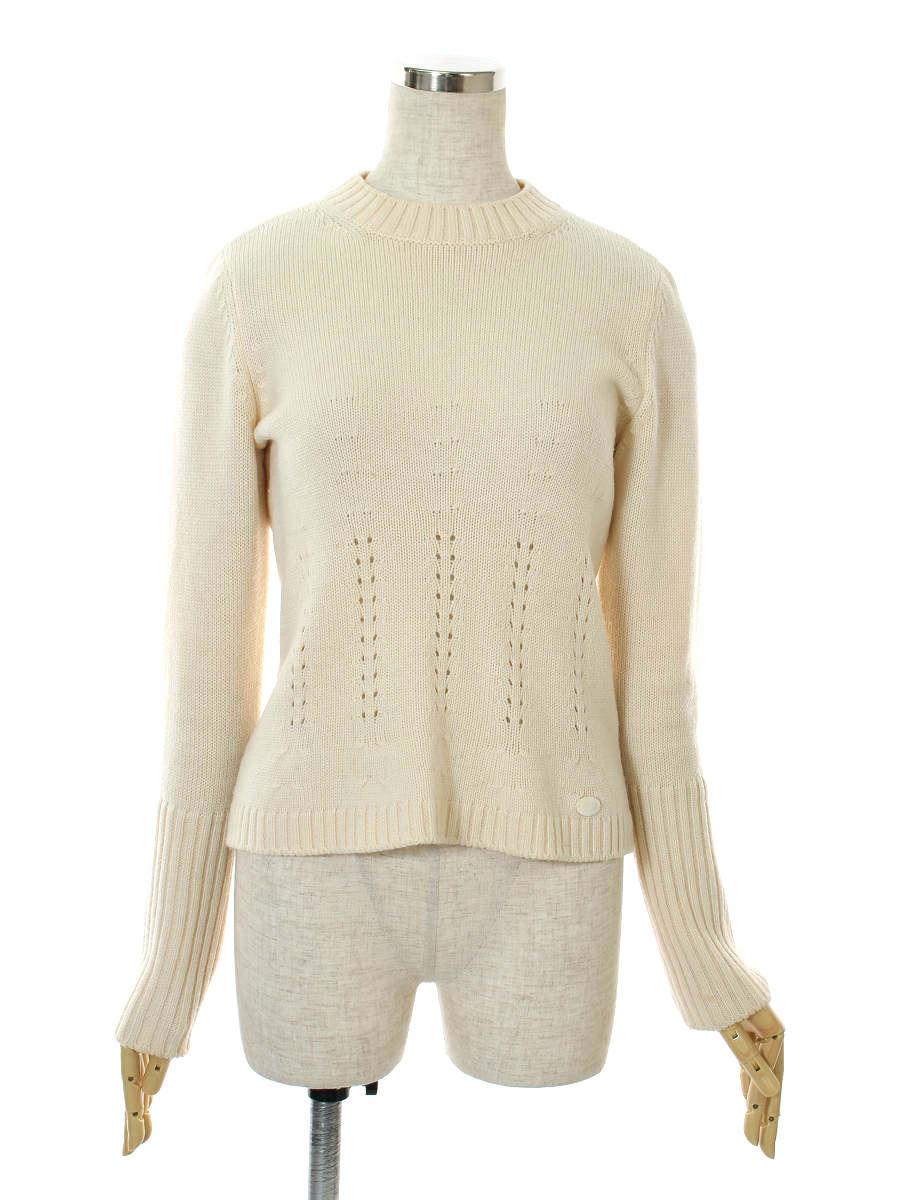 フォクシーブティック ニット セーター 35238 Sweater 長袖 40【Aランク】 【中古】tn300621