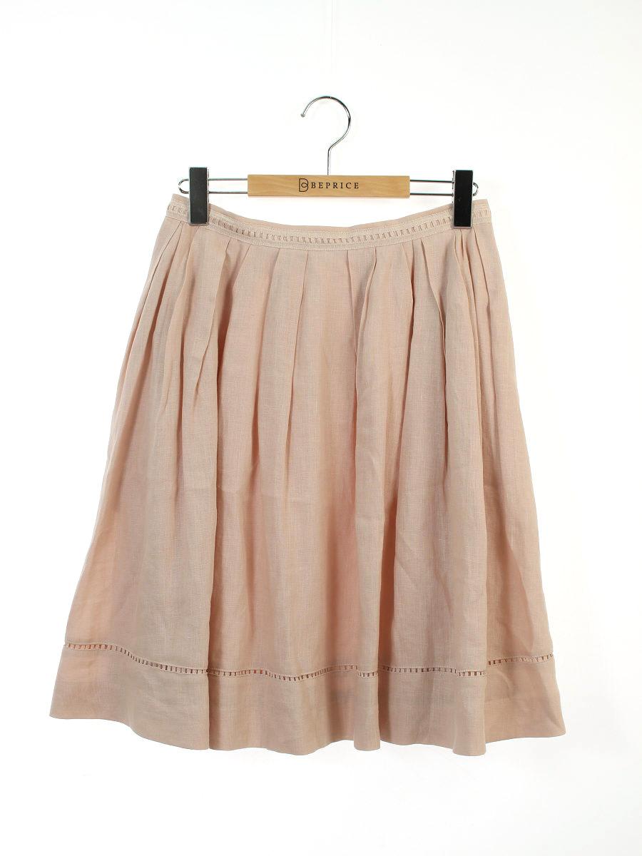 フォクシーブティック スカート Linen Flare 40【Aランク】 【中古】tn300621