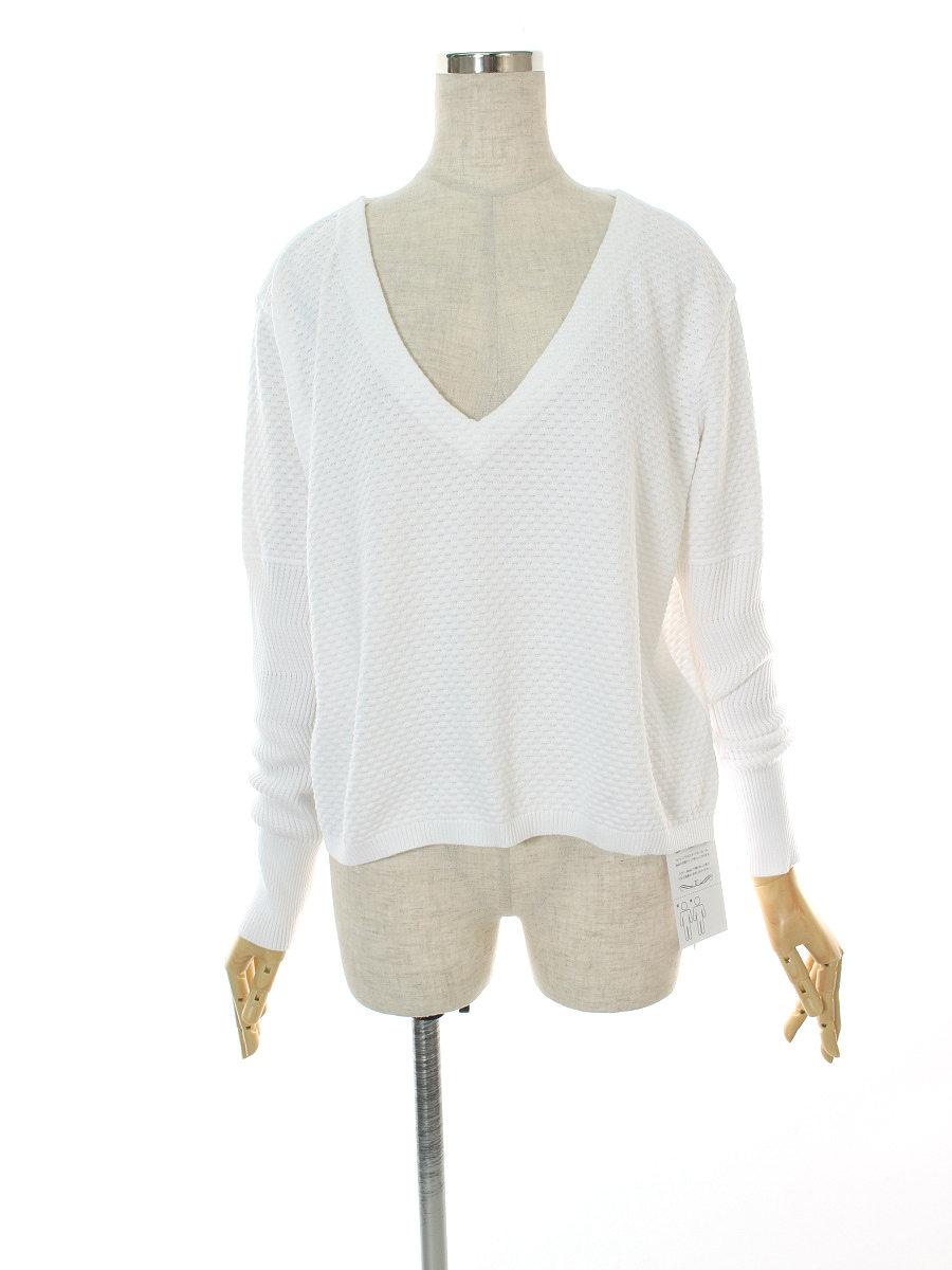 フォクシーニューヨーク collection ニット セーター 38216 Sweater 長袖 38【Sランク】【中古】tn300624