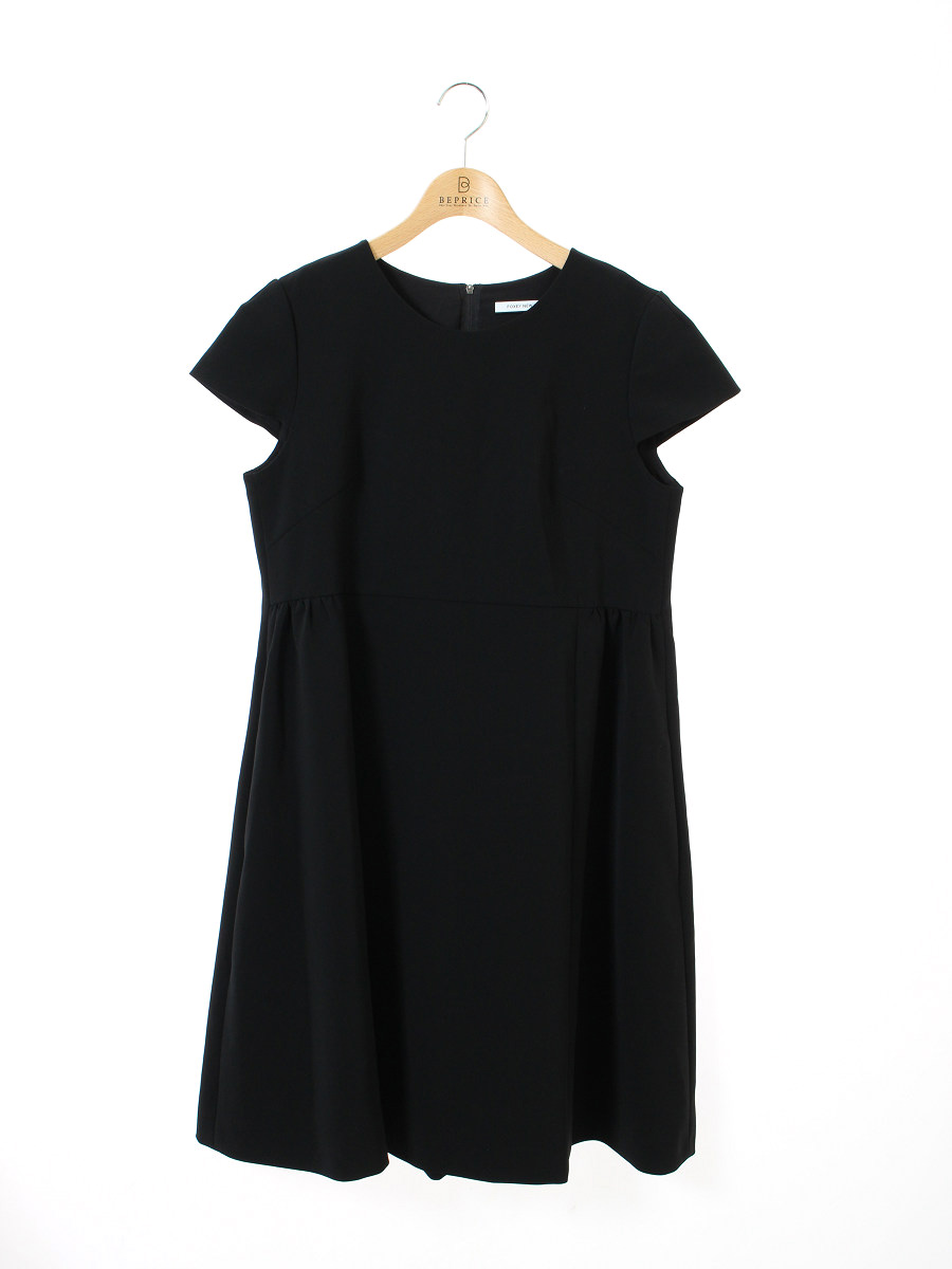 フォクシーニューヨーク ワンピース Marion Cap Sleeve Dress ノースリーブ 42【Aランク】【中古】tn300628