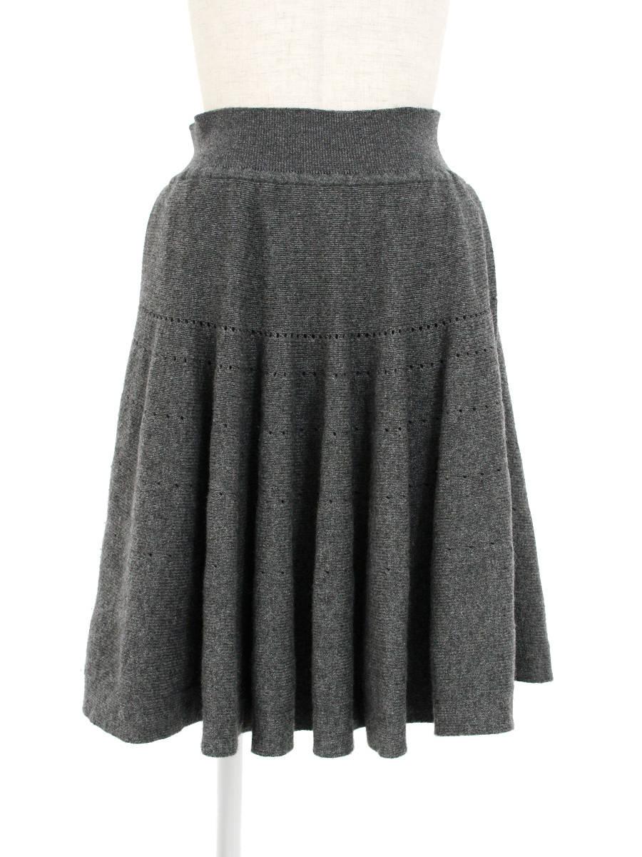 フォクシーブティック スカート プリンセスカシミヤスカート 38【Bランク】 【中古】tn300621