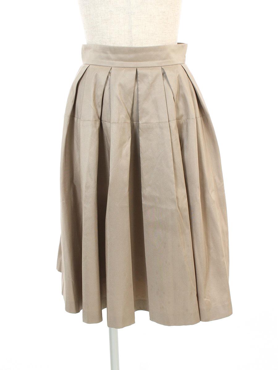 フォクシーブティック スカート 38129 シルクスカート 38【Aランク】【中古】tn300812