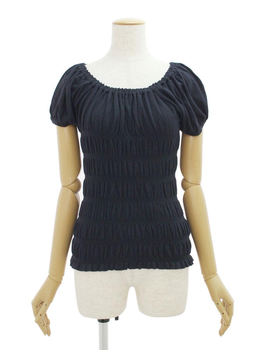 エムズグレイシー Tシャツ カットソー ストレッチ 半袖 38【Aランク】【中古】tn301209