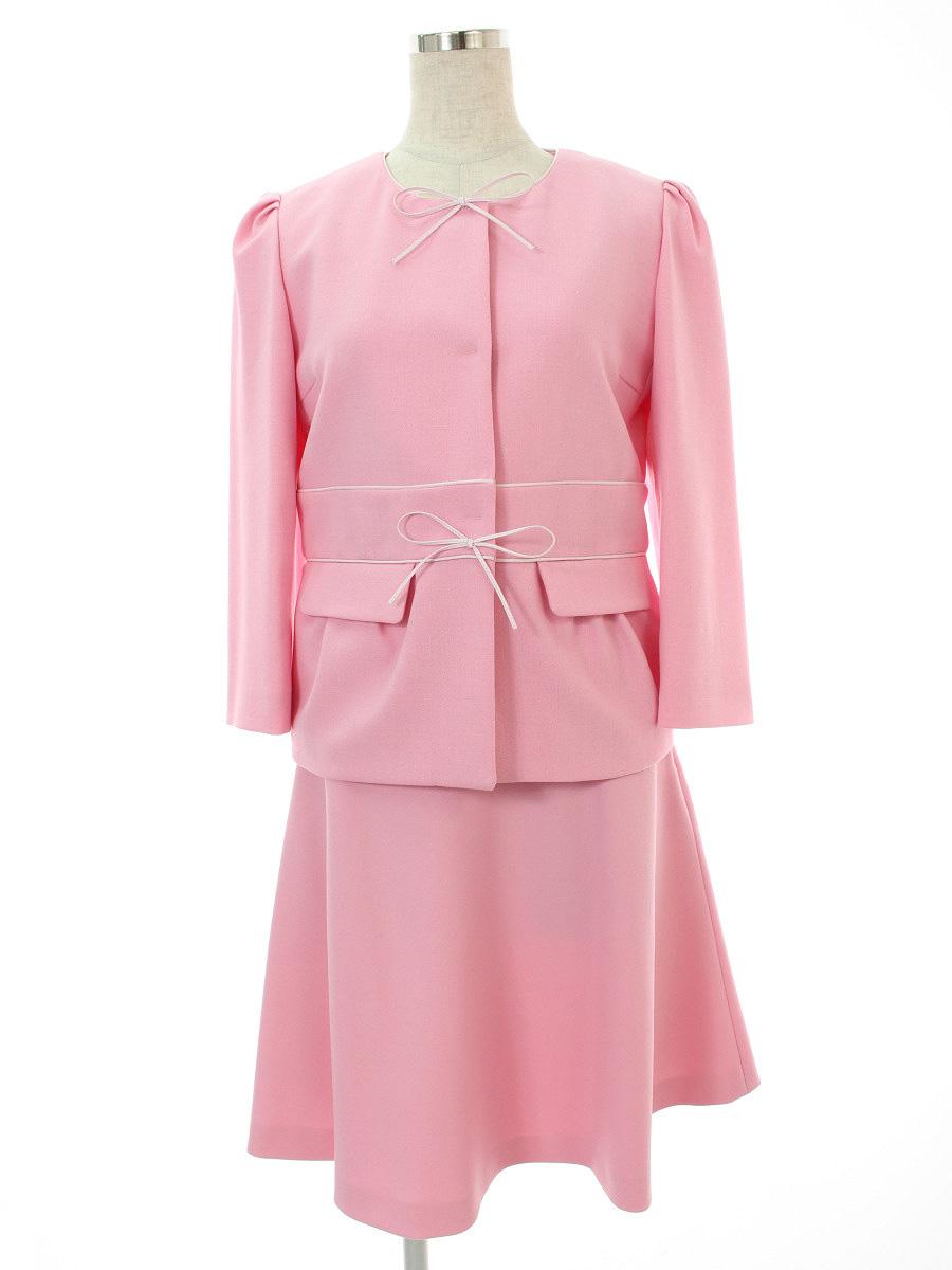 レッドヴァレンティノ スカートスーツ 40/40【Aランク】【中古】tn301209
