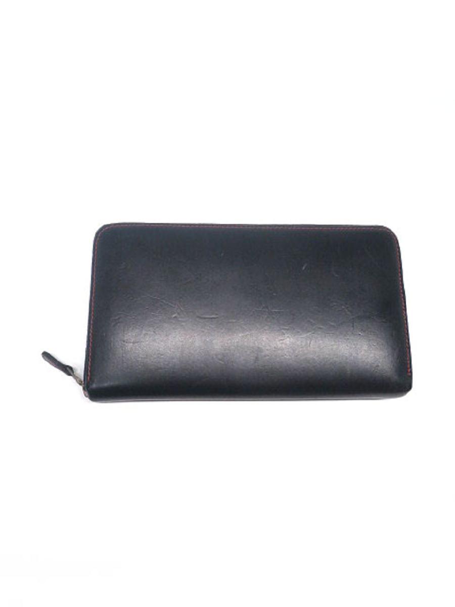 ホワイトハウスコックス 財布 ラウンドファスナー【Bランク】【中古】tn310110