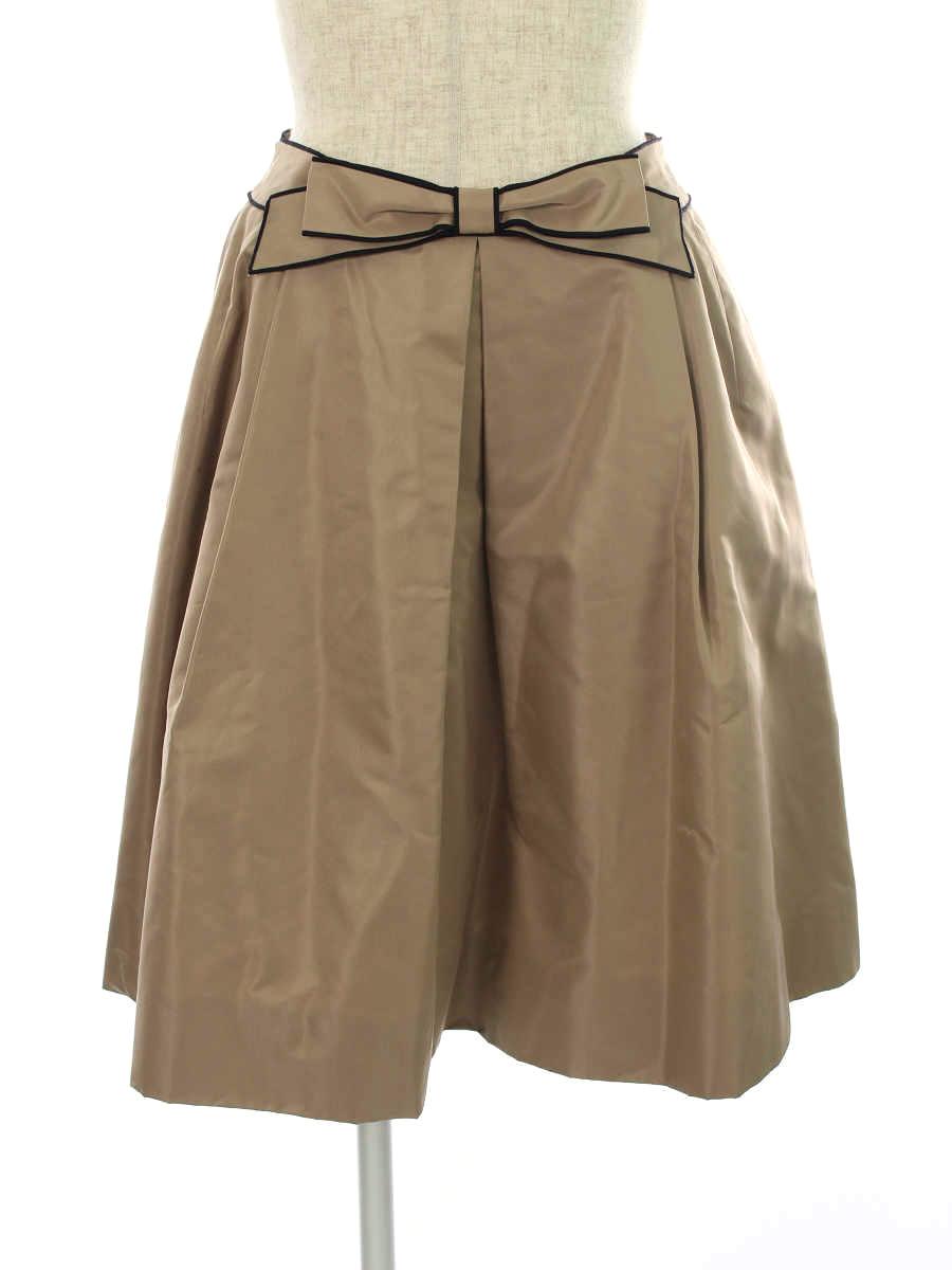 フォクシーブティック スカート スカート リボンシェイプ 40【Aランク】 【中古】tn190314