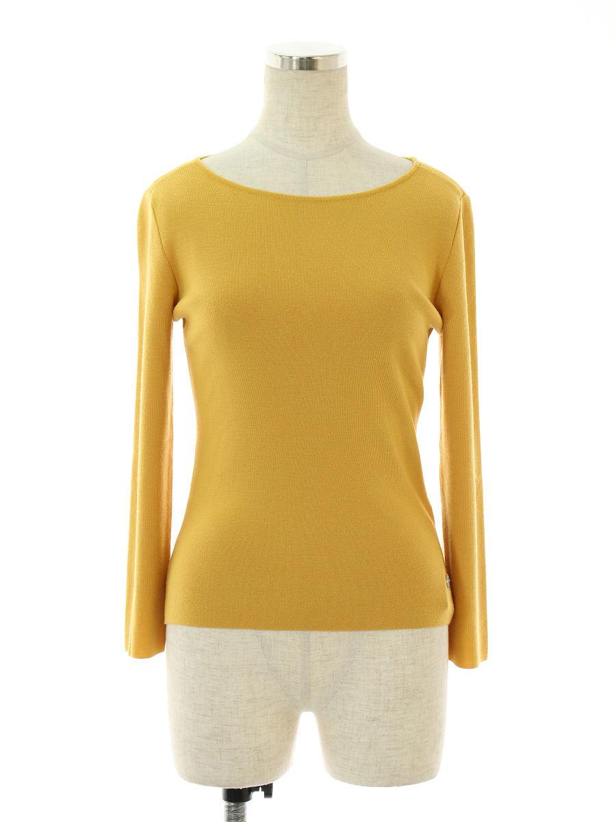 フォクシーブティック Tシャツ カットソー 34699 オードリー 無地 長袖 38【Aランク】 【中古】 tn190317