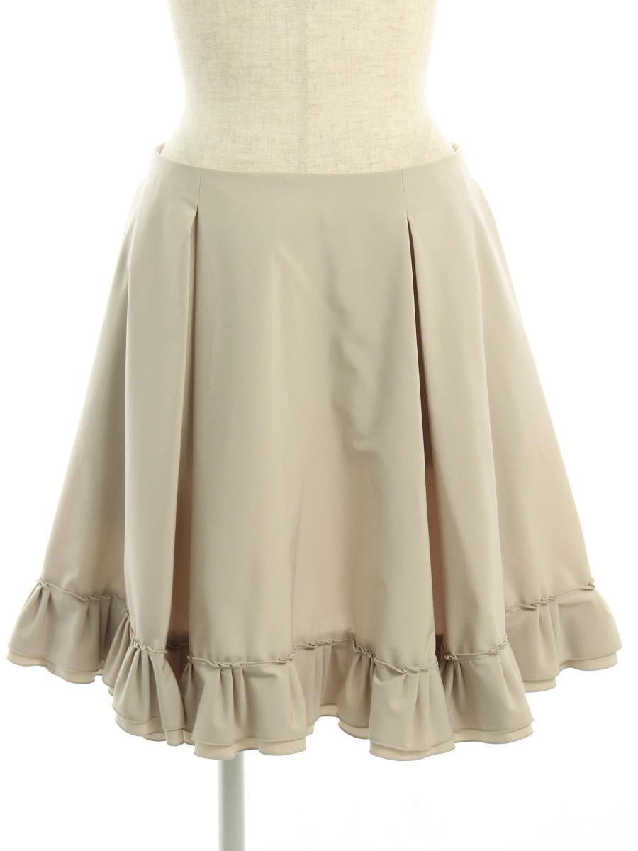 フォクシーニューヨーク スカート 31766 スカート RAINY ブリリアント 無地 40【Aランク】 【中古】 tn190328