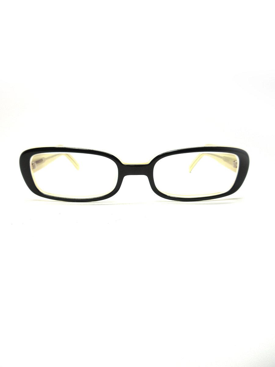 白山眼鏡店 メガネ スクエア メガネフレーム 無地【Aランク】 【中古】 tn190418