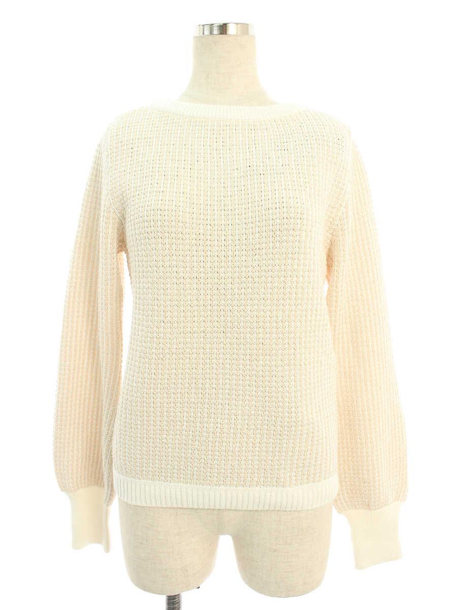 フォクシーブティック ニット セーター 39293 Sweater 長袖 40【Sランク】【中古】tn190530