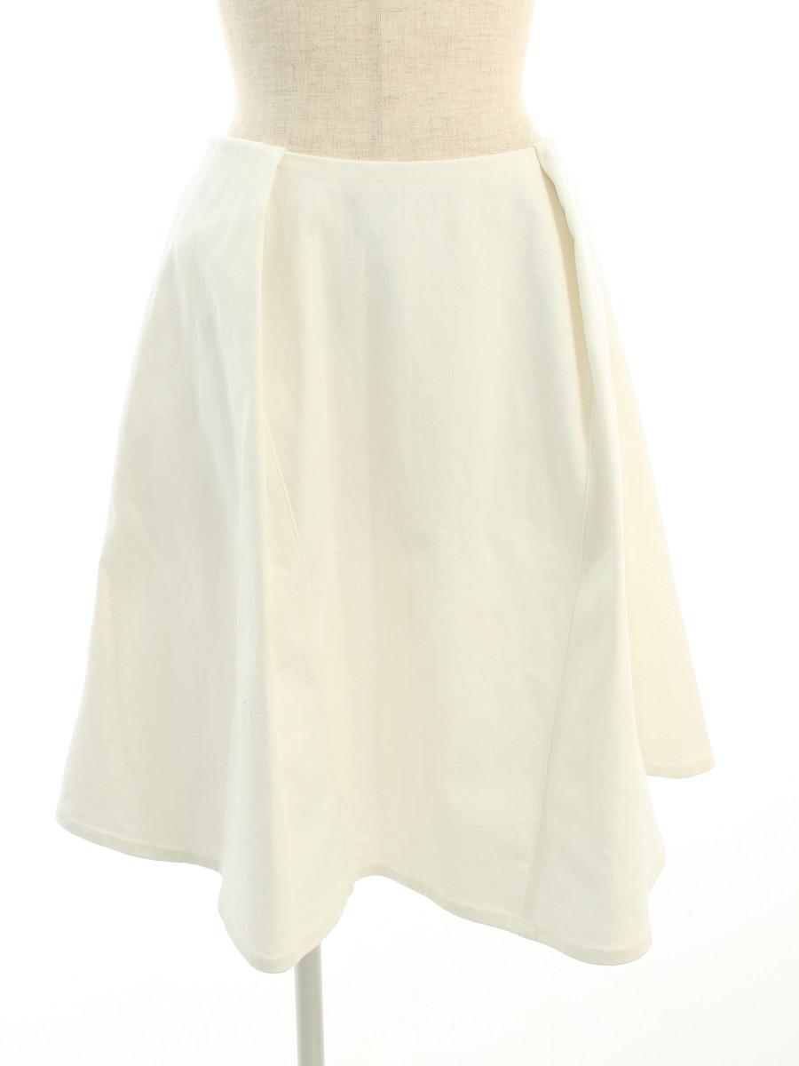 フォクシーニューヨーク スカート 39877 Skirt White Tulip 38【Sランク】【中古】tn190606