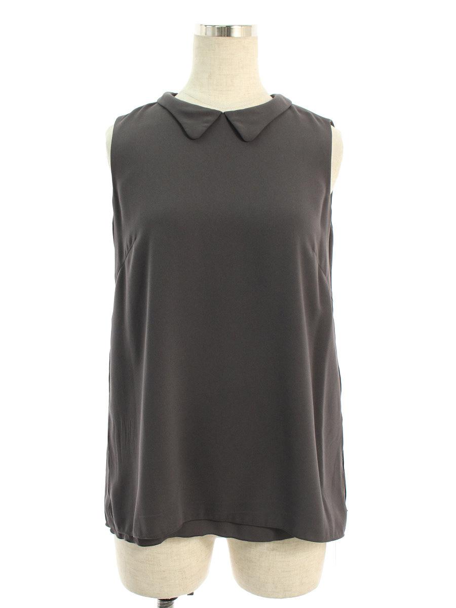 フォクシーブティック Tシャツ カットソー 35240 Blouse Parisienne ノースリーブ 38【Bランク】【中古】tn190613