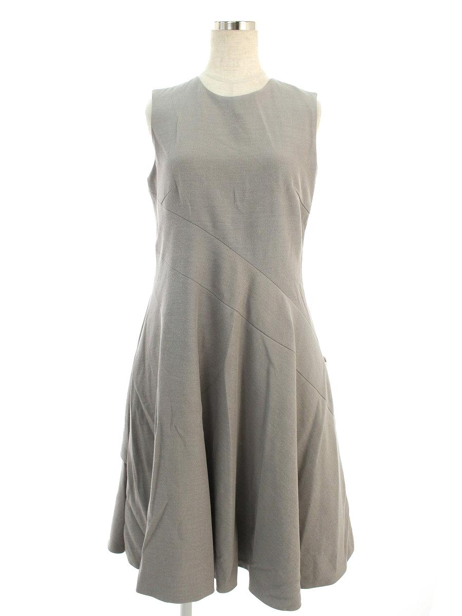 アディアム ワンピース Side Flounce Tie Dress ノースリーブ 0【Aランク】【中古】tn190718