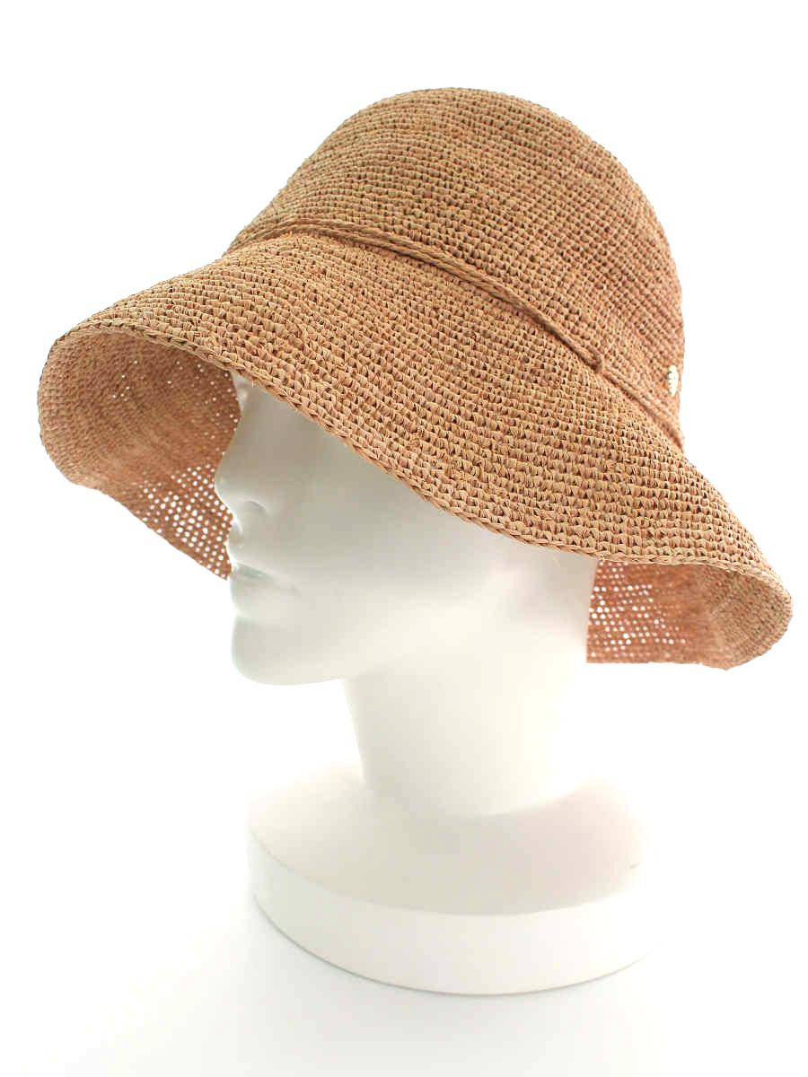 ヘレンカミンスキー 麦わら帽子 Provence 8 ラフィアハット OS【Sランク】【中古】tn190721