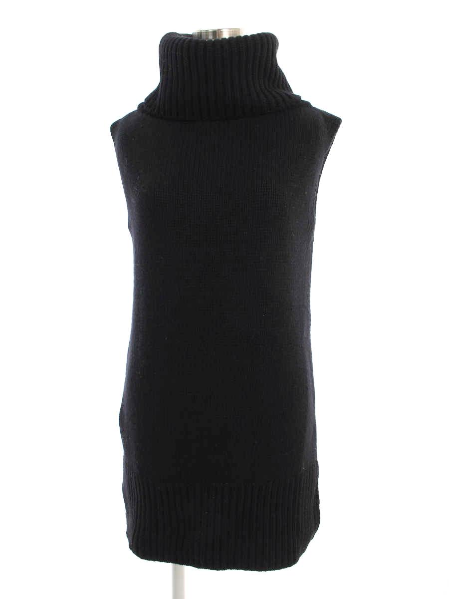 フォクシーブティック ニット セーター 38518 Knit Tops カシミヤ ノースリーブ F【Aランク】【中古】tn190801