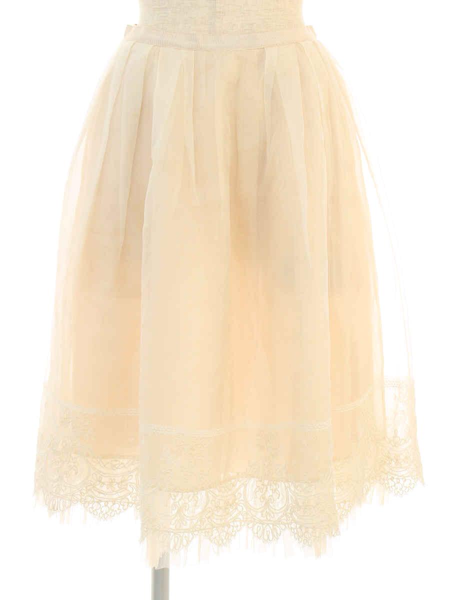 フォクシーブティック スカート 38469 Skirt Garland 38【Bランク】【中古】tn190901