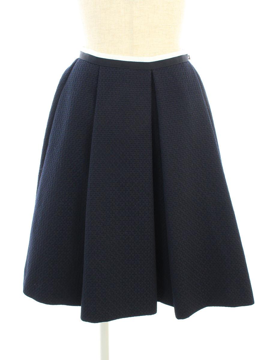 フォクシーニューヨーク スカート 35527 Skirt ワンポイント 38【Aランク】【中古】tn190905