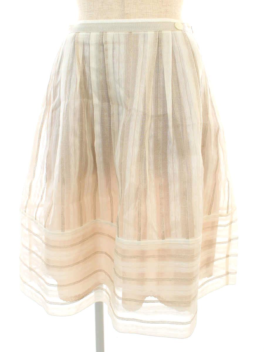 フォクシーブティック スカート 36712 Skirt La Seine ワンポイント 38【Aランク】【中古】tn190908