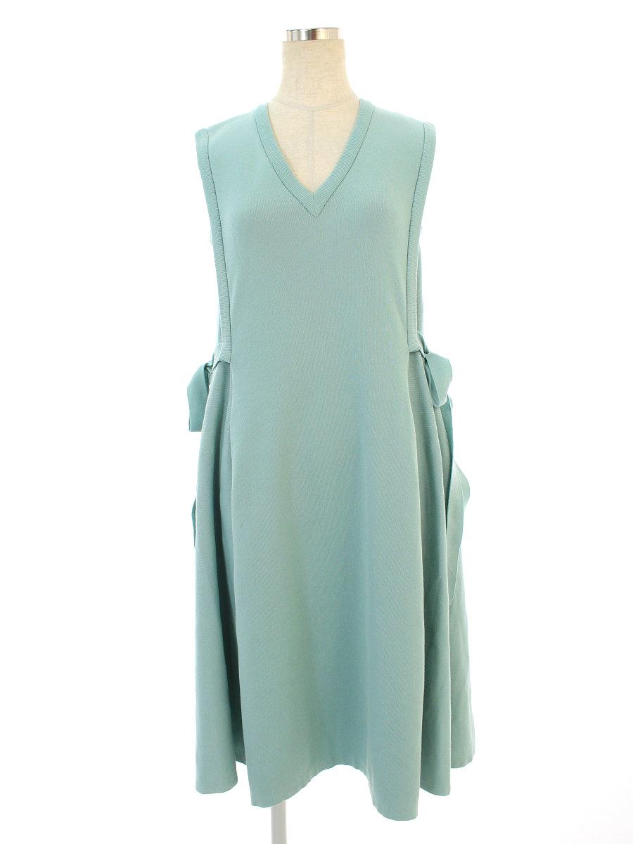 フォクシーブティック ワンピース 38307 Knit Dress ノースリーブ 40【Aランク】【中古】tn190929
