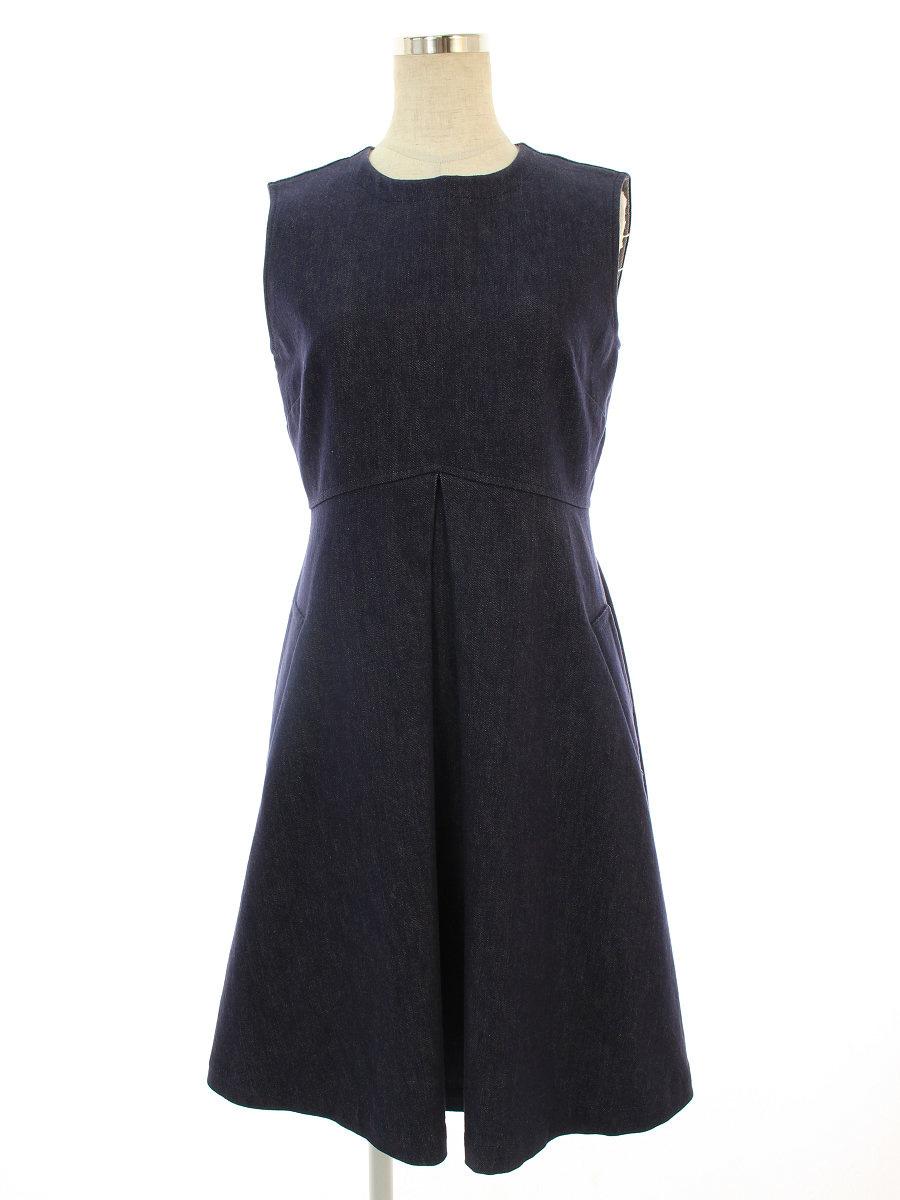 フォクシーニューヨーク ワンピース Dress ノースリーブ 40【Aランク】【中古】tn191006