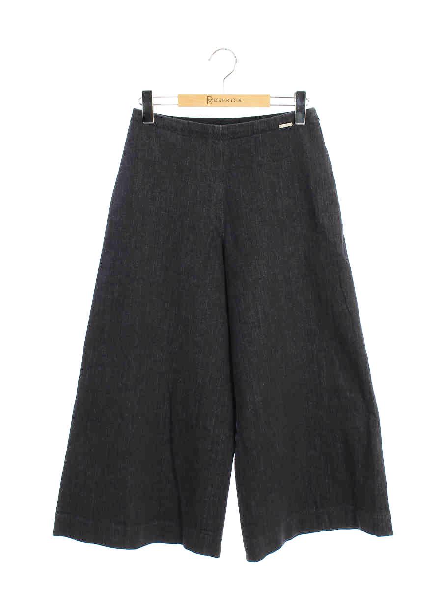 フォクシーニューヨーク デニムパンツ 37027 Pants Indigo ワンポイント 38【Aランク】【中古】tn191020