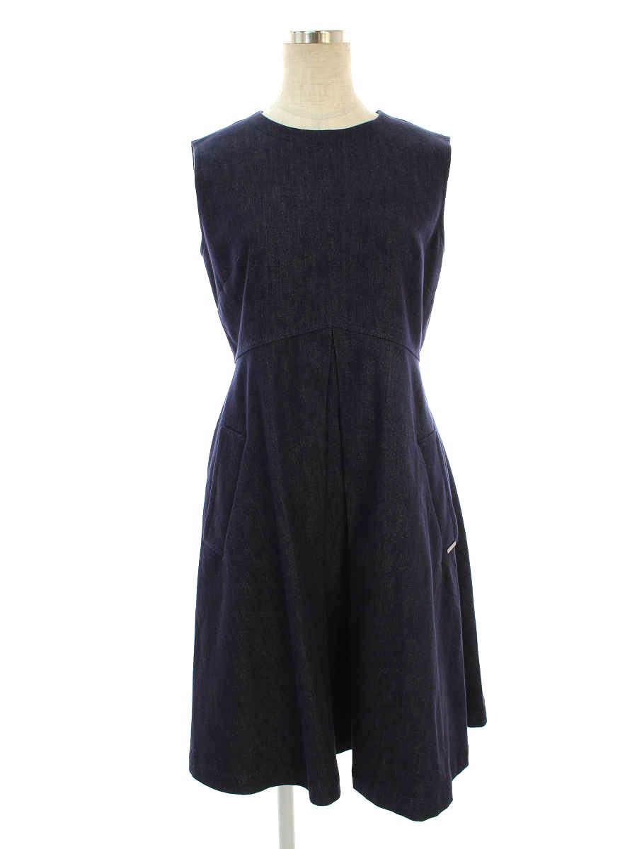 フォクシーニューヨーク ワンピース Dress ノースリーブ 40【Aランク】【中古】tn191031