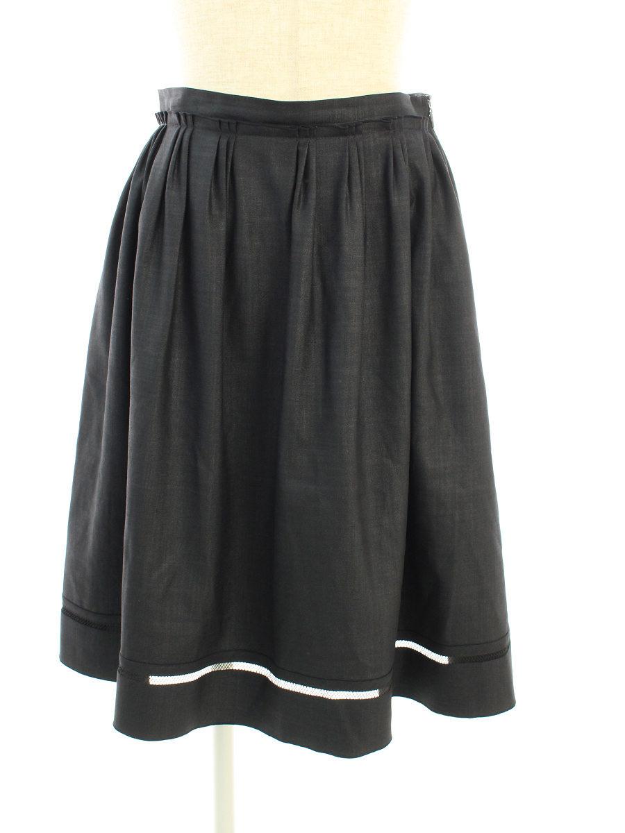 フォクシーニューヨーク スカート 33518 サマーブリーズ 40【Aランク】【中古】tn191027