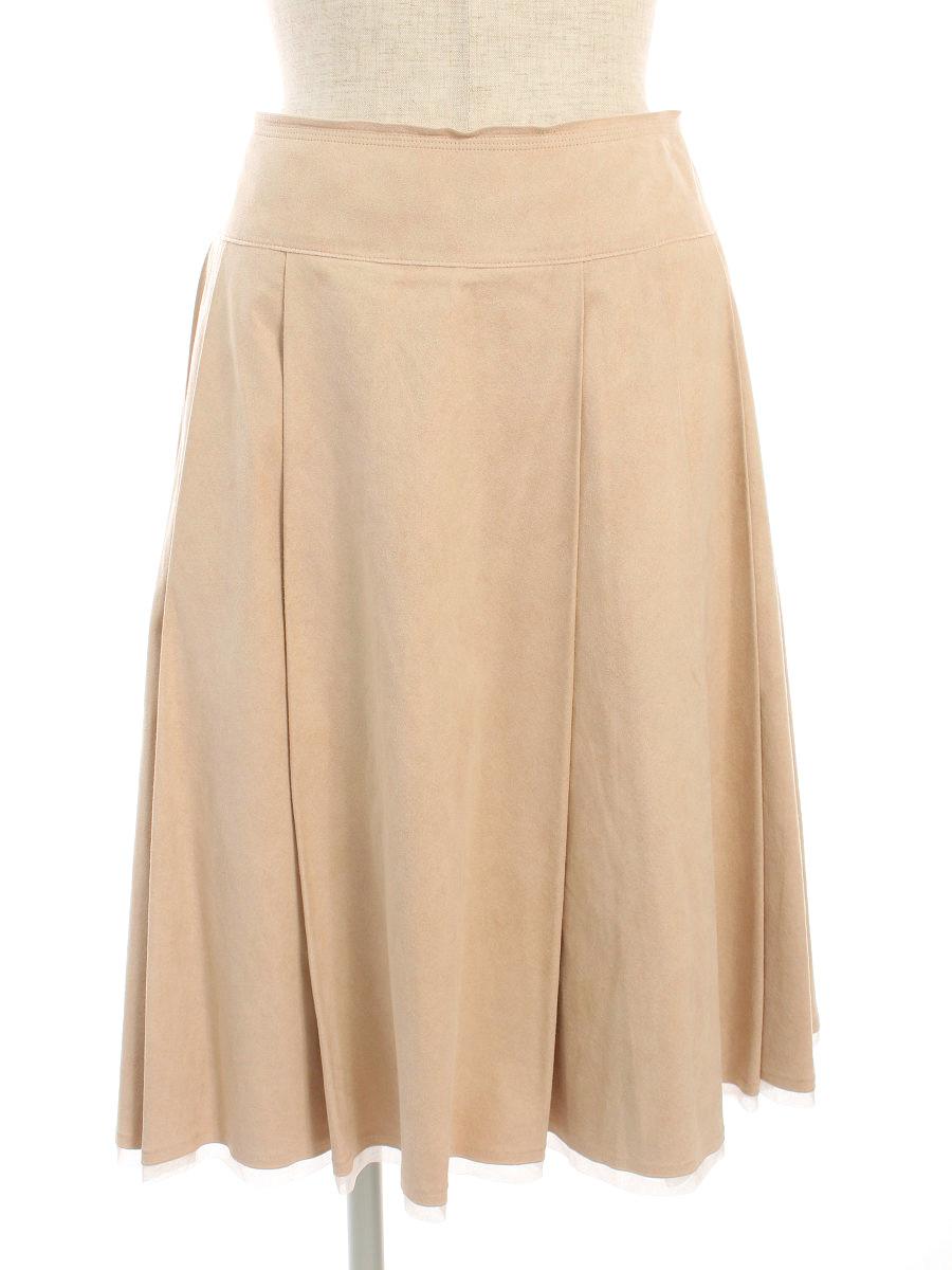 フォクシーブティック スカート 20065 Skirt 無地 38【Aランク】 【中古】 tn191205