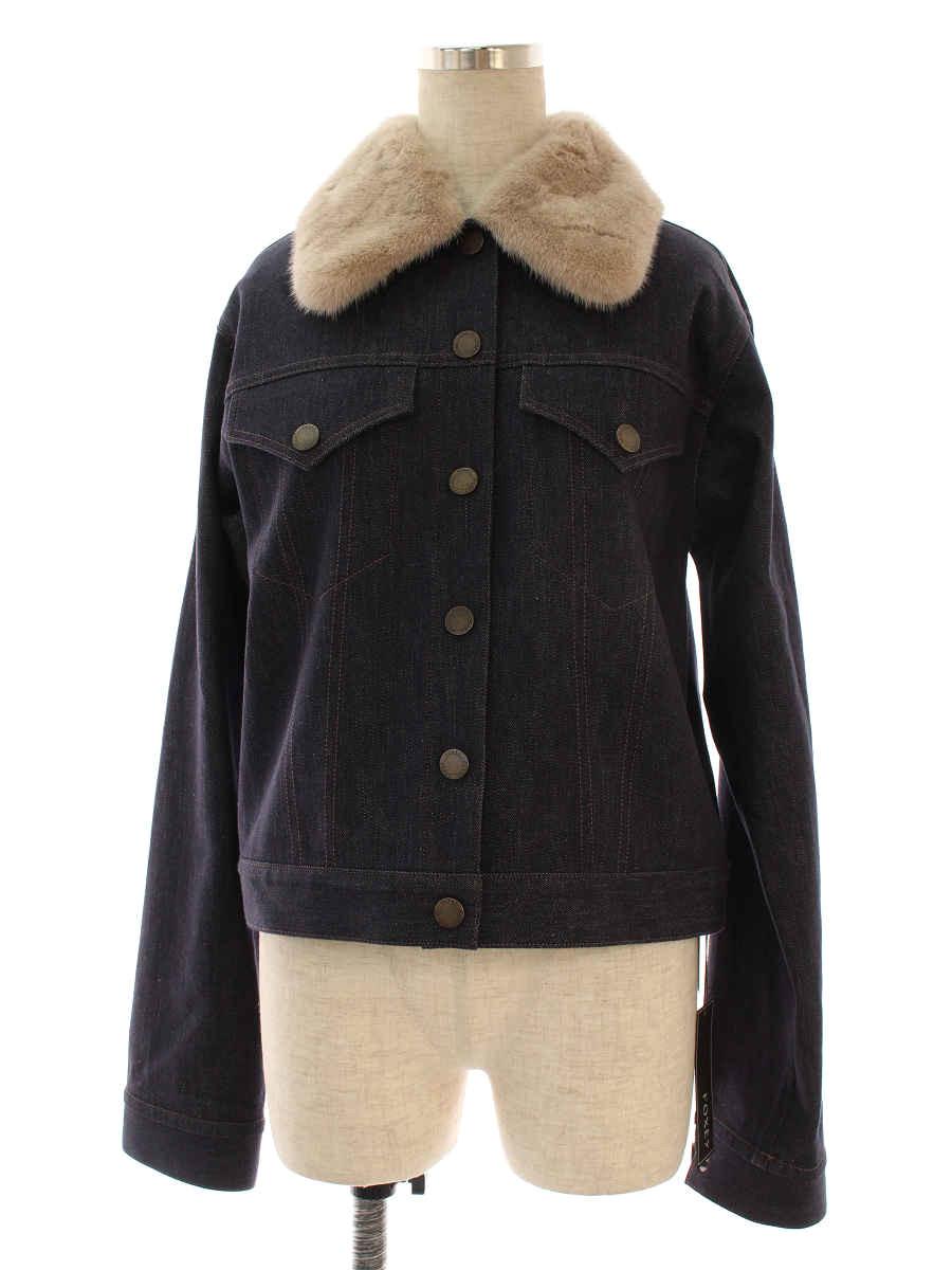 フォクシーブティック ジャケット 40913 Jacket Mink GJ 42【Sランク】【中古】tn191215
