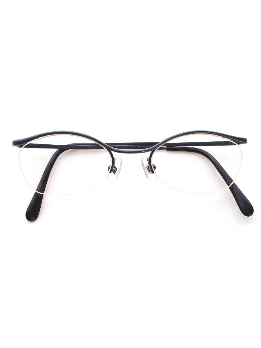 白山眼鏡店 メガネ ブロウフレーム【Aランク】【中古】tn191219