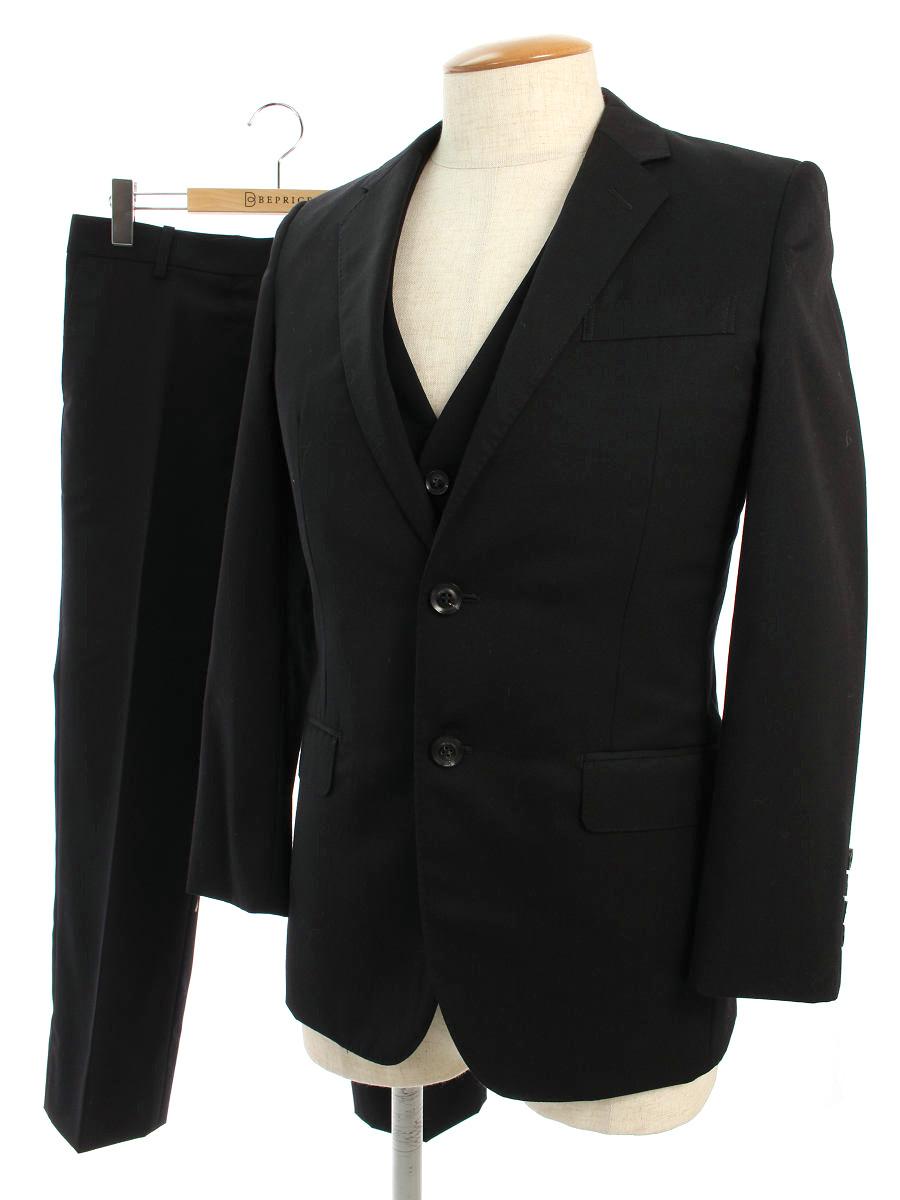 ジョンローレンスサリバン スーツ 3P 2B 34/10【Aランク】【中古】tn200116