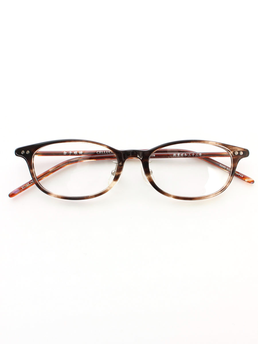 金子眼鏡 メガネ 金子眼鏡 メガネ ボストン セルロイド【Aランク】【中古】tn200116