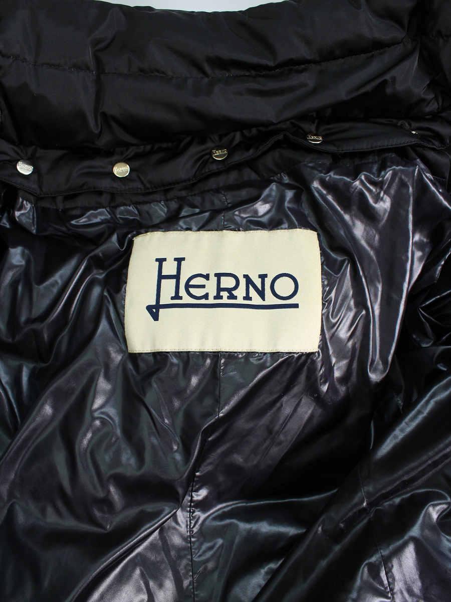 ヘルノ ダウンコート PI0987D 12170 フォックスファー ロング 42 Aランク tn200126Okn0PwX8