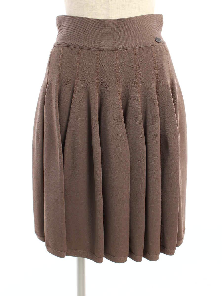 フォクシーブティック スカート 34525 lily ruffle 38【Aランク】【中古】tn200206