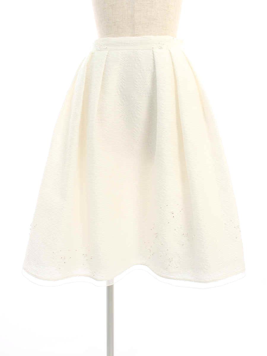 フォクシーブティック スカート 37686 Skirt SPRING VALLEY 38【Aランク】【中古】tn200220