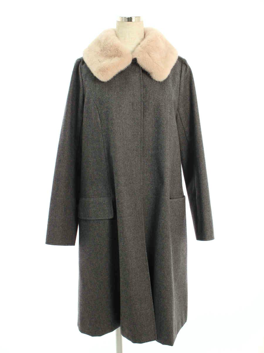 フォクシーブティック コート 36236 Coat Rose Mink 40【Aランク】【中古】tn200227