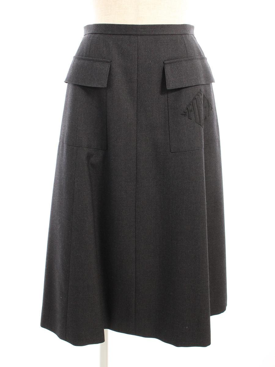 フォクシーブティック スカート 40196 Skirt Noblea 38【Sランク】【中古】tn200223