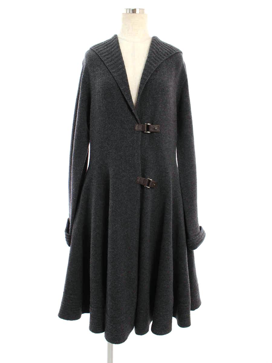 フォクシーブティック コート knit Coat Dominique F【Aランク】【中古】tn200301