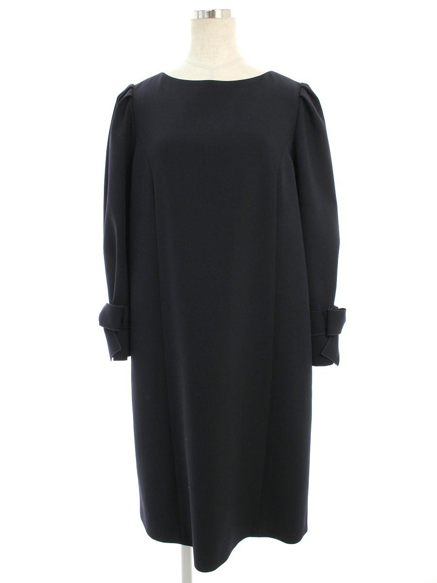 フォクシーブティック ワンピース 39120 Dress Sleeves 42【Bランク】【中古】tn200308