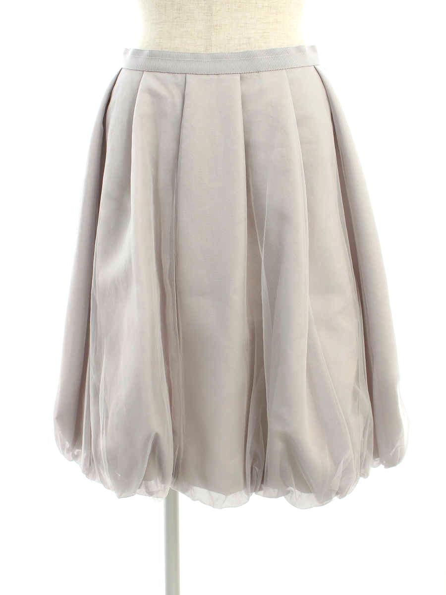 フォクシーブティック スカート 39338 Skirt Pudding 40【Aランク】【中古】tn200308