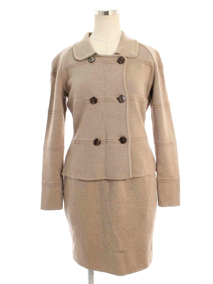 フォクシーブティック スカートスーツ ウール ジャケット&スカート 40/40【Aランク】【中古】tn200308