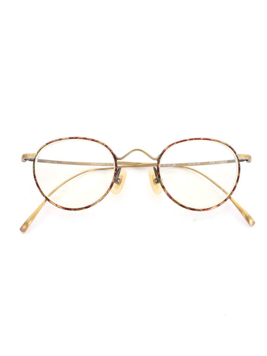 金子眼鏡 メガネ VINTAGE ボストン【Aランク】【中古】tn200308