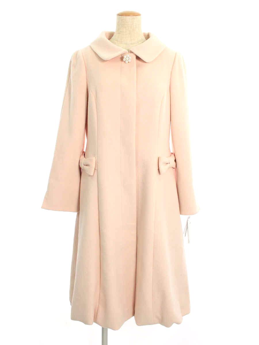 エムズグレイシー コート Pink Elegant Coat 40【Aランク】【中古】tn200319