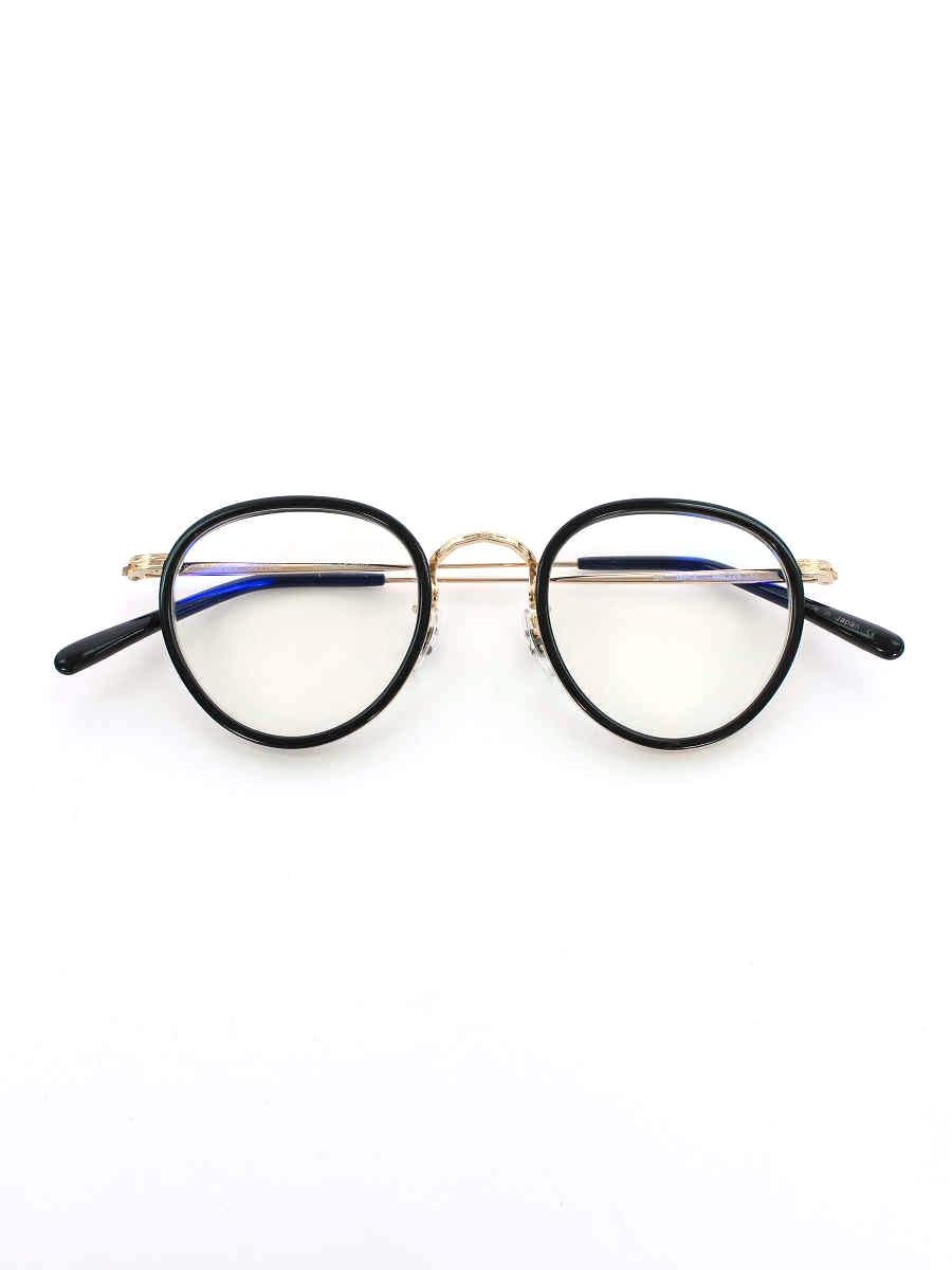 オリバーピープルズ メガネ MP2 BK 雅 Limited Edition ボストン型 メガネフレーム【Bランク】【中古】tn200315