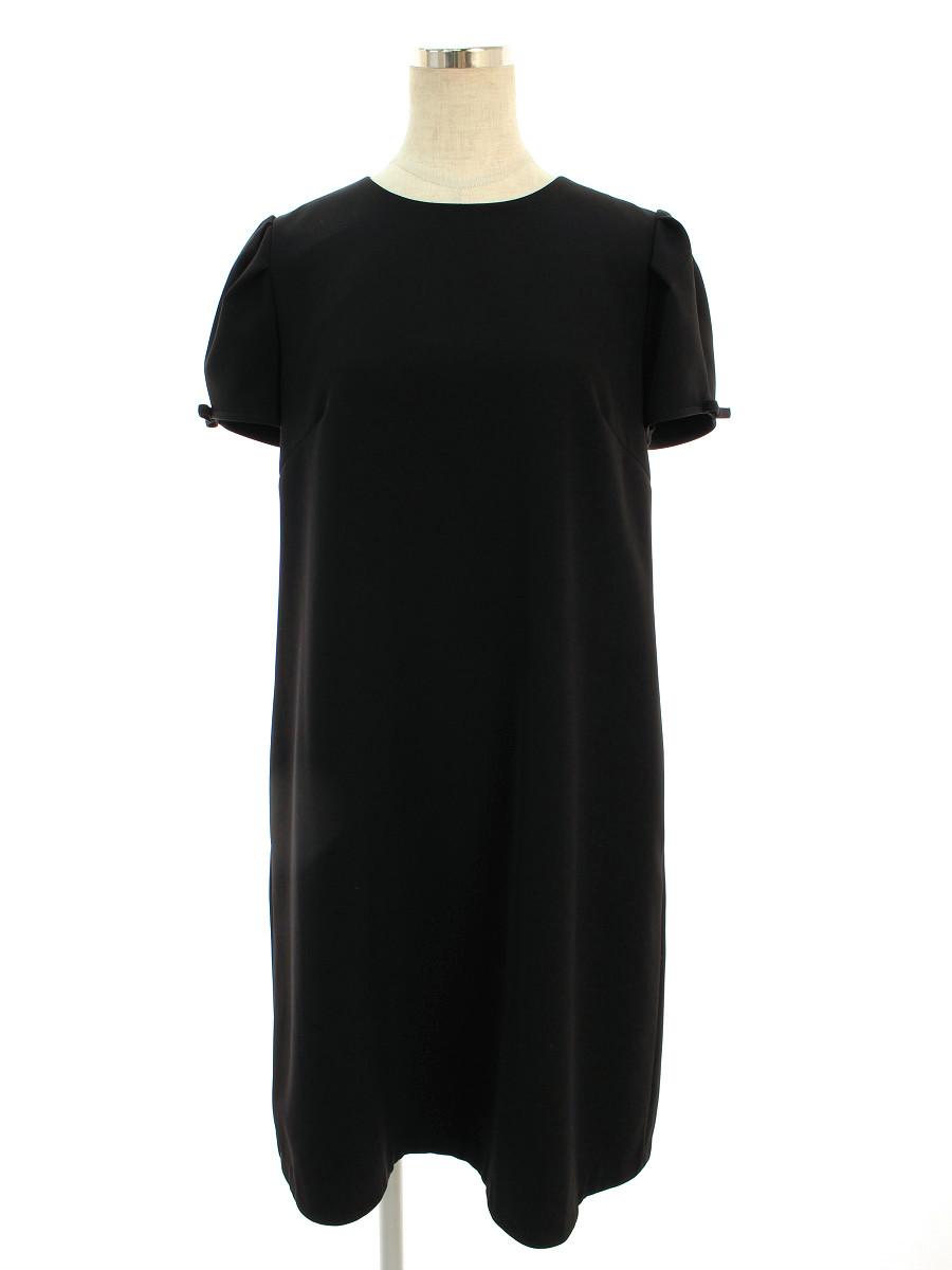 フォクシーニューヨーク ワンピース Dress 半袖 38【Aランク】【中古】tn200326